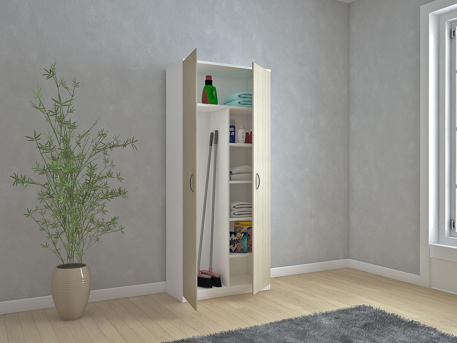 Tuttopiani portascope colonne ctf mobili in kit - Armadio ripostiglio da interno ...